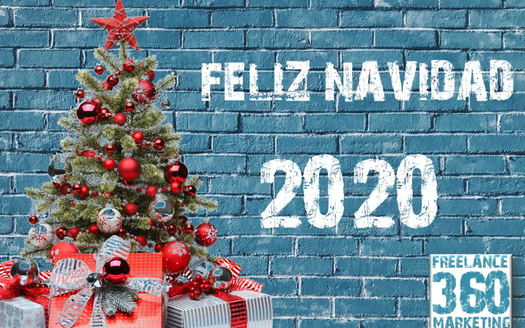 Felicitación de navidad de Freelance 360 Marketing