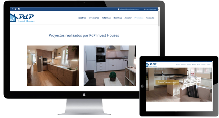 Nuevo proyecto PDP Invest Houses
